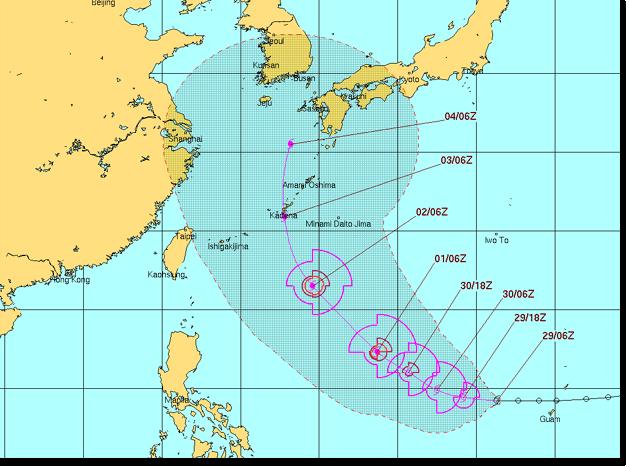 台風18号 CHABA