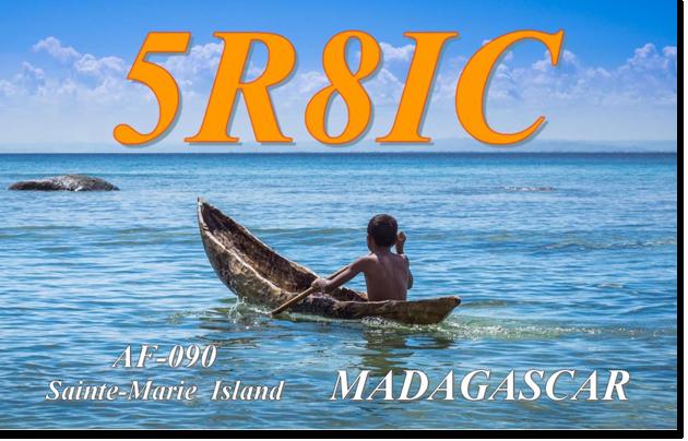 5R8IC - Saint Marie Island, Madagascar