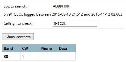 AD8J/HR9 - Honduras