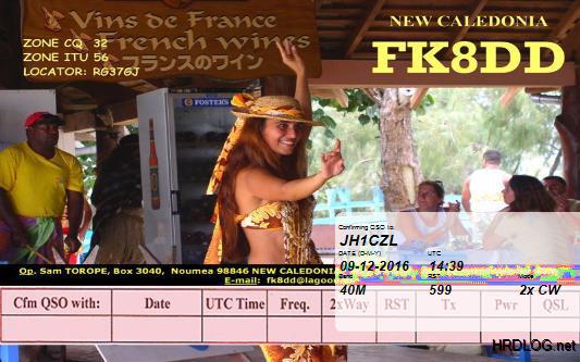 FK8DD - New Caledonia