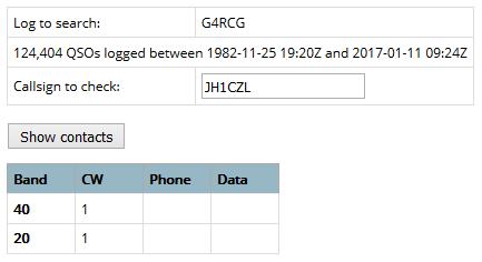 G4RCG - England