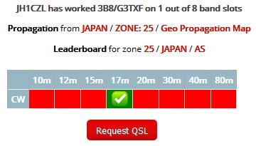 3B8/G3TXF - Mauritius