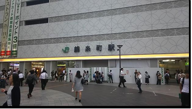 錦糸町の南口