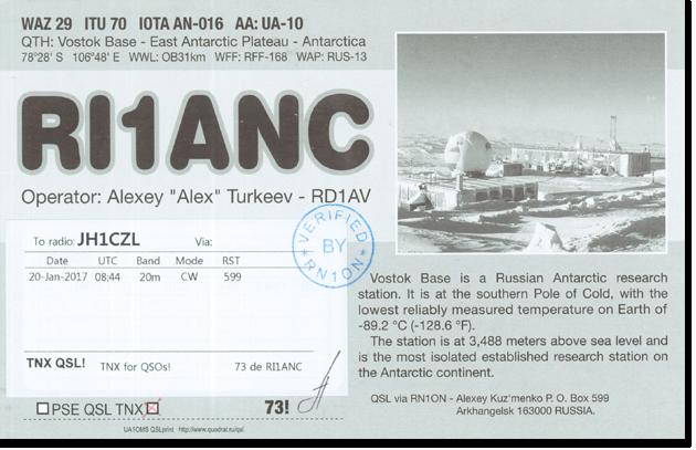 RI1ANC - Antarctica
