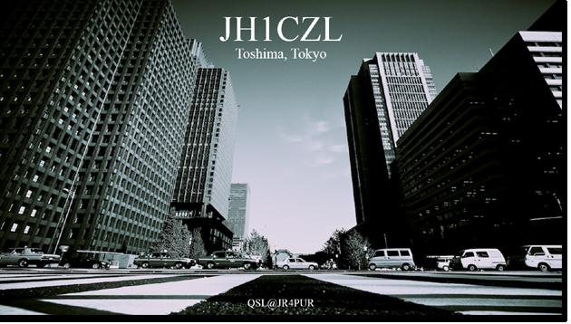 QSL@JR4PUR #001 - Tokyo
