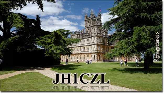 QSL@JR4PUR #25 - Downton Abbey (Highclere Castle)