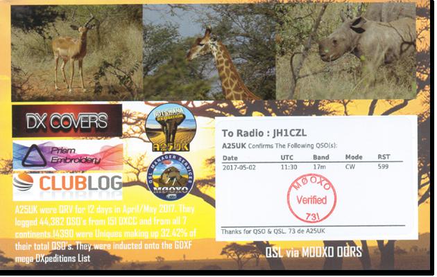 A25UK - Botswana