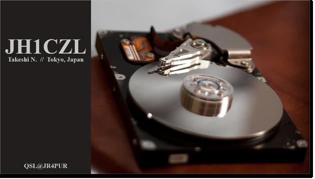 QSL@JR4PUR #113 - Hard Disk Drive (HDD)