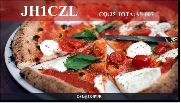 QSL@JR4PUR #147 - Pizza Margherita