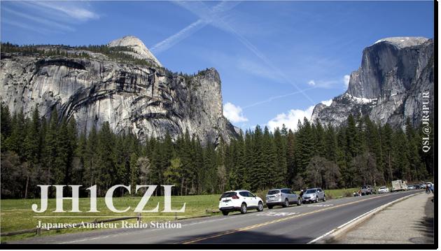 QSL@JR4PUR #149 - Yosemite Road, California