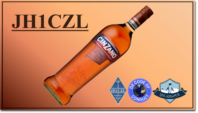 QSL@JR4PUR #198 - Cinzano