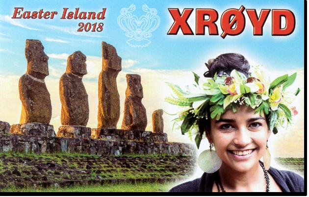 XR0YD - Easter Island